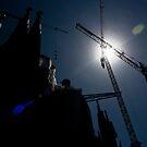 Sagrada Família Construction by dozzie