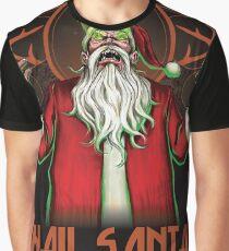 HAIL SANTA Graphic T-Shirt