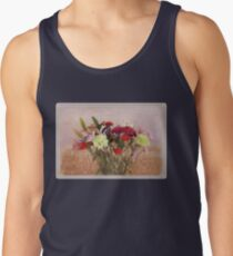 Bouquet in a Window ~ Painting Style Tank Top