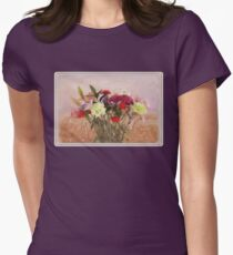 Bouquet in a Window ~ Painting Style T-Shirt