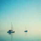 Yachts at Eastern Beach by Helen Green