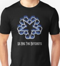Fiery Chrome Black Veil Brides Star - We Are The Outcasts Unisex T-Shirt