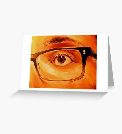 Self Portrait 2011 Greeting Card