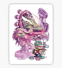 The Power of Imagination Sticker