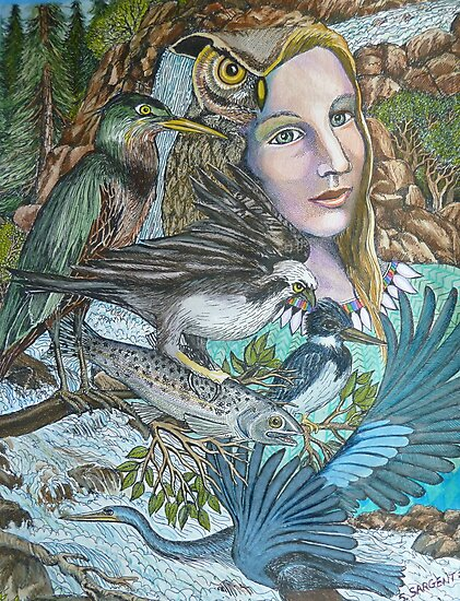 River Spirit by Sally Sargent
