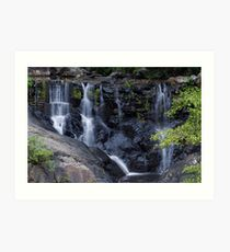 Waterfall at Surprise Creek Cairns QLD Art Print
