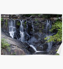 Waterfall at Surprise Creek Cairns QLD Poster