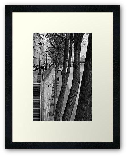 Bords de Seine by Nayko