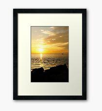 Yellow Sky Framed Print