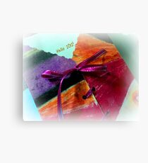 Welcoming 2012 with flying colors... Canvas Print