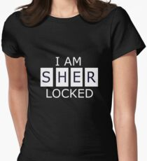 I AM SHER - LOCKED Women's Fitted T-Shirt