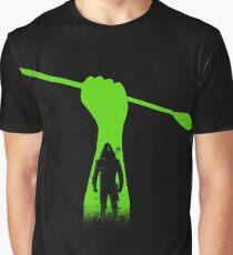 Green hero Graphic T-Shirt