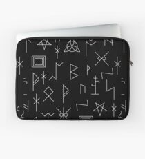 Runes Of Mystery Laptop Sleeve