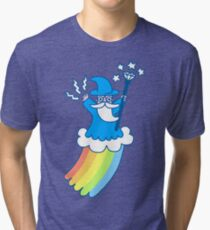 Rainbow Wizard Tri-blend T-Shirt