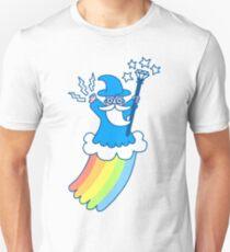 Regenbogen-Zauberer Slim Fit T-Shirt