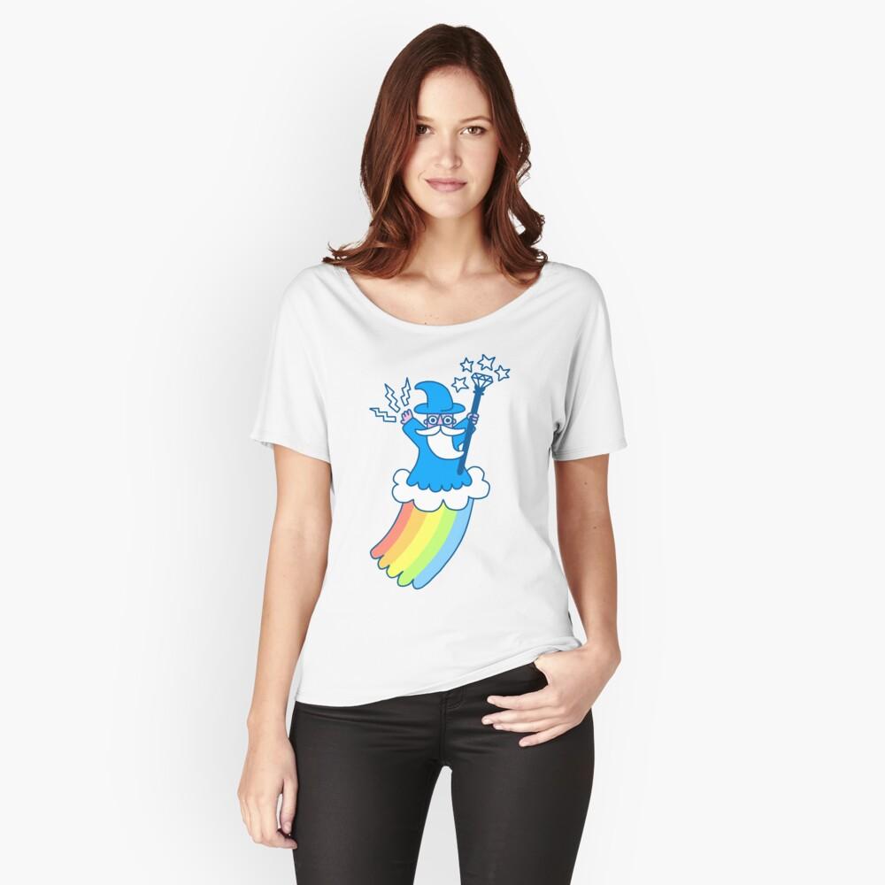 Regenbogen-Zauberer Loose Fit T-Shirt