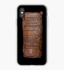 Chamber's Twentieth Century Dictionary - iPhone Case iPhone Case