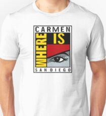 Where is Carmen? Unisex T-Shirt