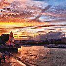 London Sunset by Abtin Eshraghi