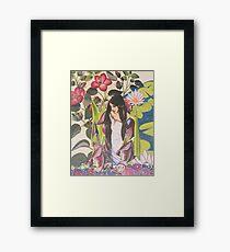 A Lady of Shallott Framed Print
