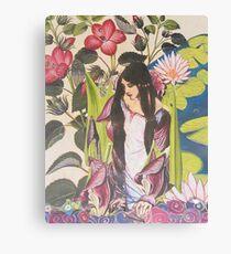 A Lady of Shallott Canvas Print