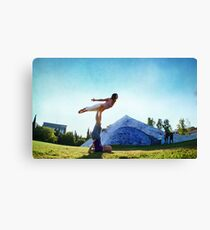 Acroyoga Fly Canvas Print