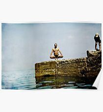 Yoga by the sea Poster