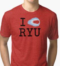 I Hadouken Ryu Tri-blend T-Shirt
