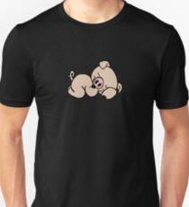 Sleeping piggy Unisex T-Shirt