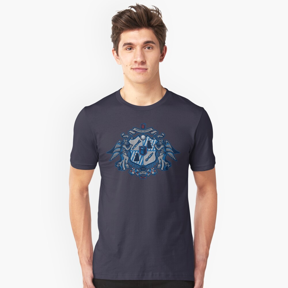 Whovian Institute Unisex T-Shirt Front