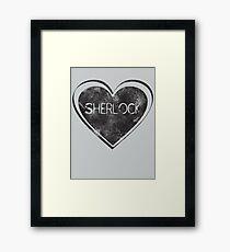 Sherlove Framed Print