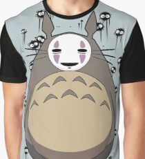 Totoro No Face Graphic T-Shirt