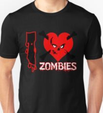 I heart zombies Unisex T-Shirt