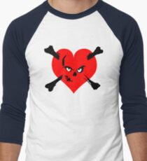 I heart zombies Men's Baseball ¾ T-Shirt