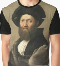 Portrait of a Man Graphic T-Shirt