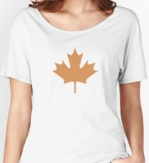 maple leaves - t-shirt Women's Relaxed Fit T-Shirt