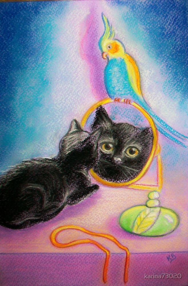Little OJ... mirror.. :)) by karina73020
