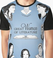 Great Women of Literature Graphic T-Shirt