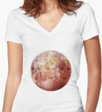 Party thème - Halloween Day Women's Fitted V-Neck T-Shirt