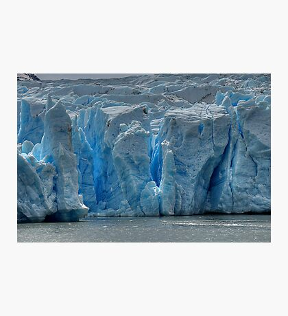 The Face of Grey Glacier Photographic Print