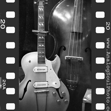 Guitar & Upright Bass by AnalogSoulPhoto