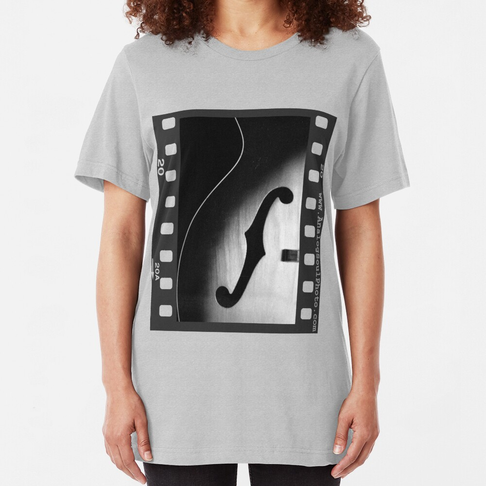 Vintage Harmony Guitar Slim Fit T-Shirt