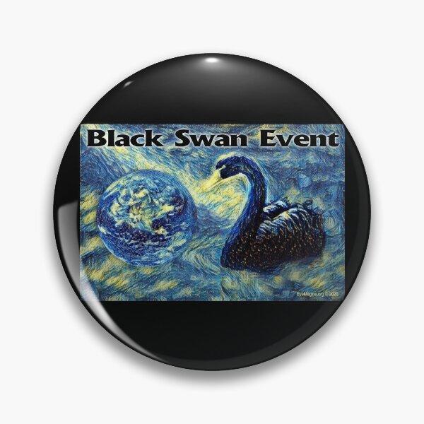 Black Swan Event Pin