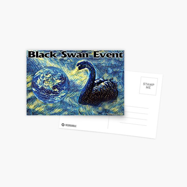 Black Swan Event Postcard