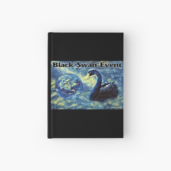 Black Swan Event Hardcover Journal