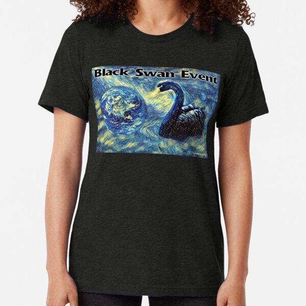 Black Swan Event Tri-blend T-Shirt