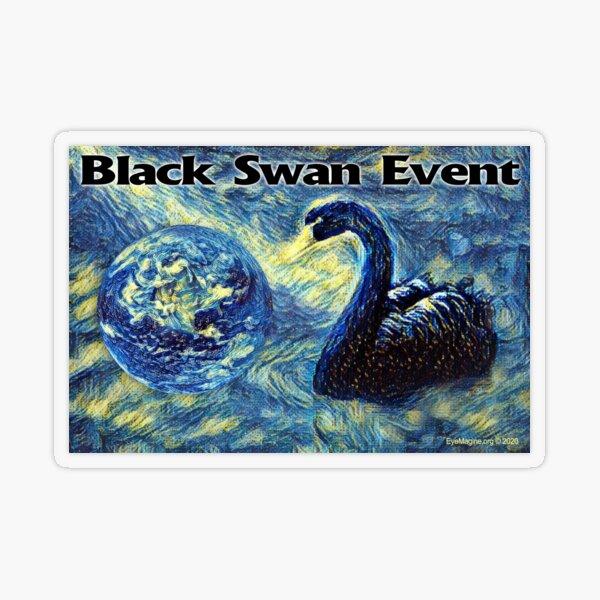 Black Swan Event Transparent Sticker