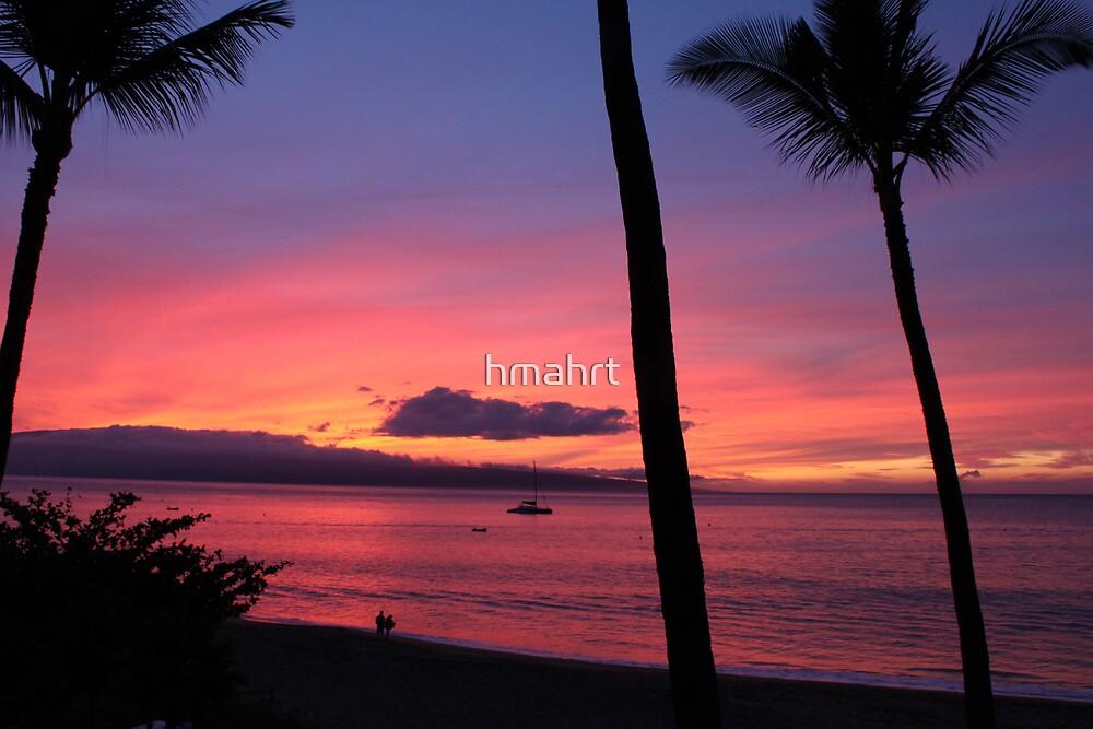 Kaanapali Beach Sunset 2 by hmahrt