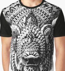Camiseta gráfica Bisonte