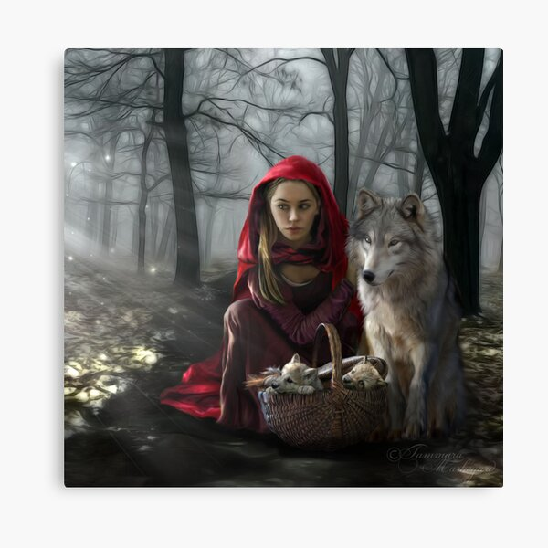 Enchantment Of the Wolf Canvas Print